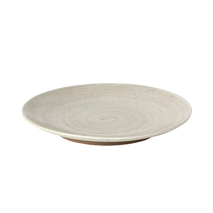 Grød Assiette à dessert, Ø 20 x H 2,4 cm, sable de Broste Copenhagen