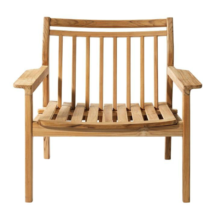 M6 Chaise longue de jardin de FDB Møbler teck
