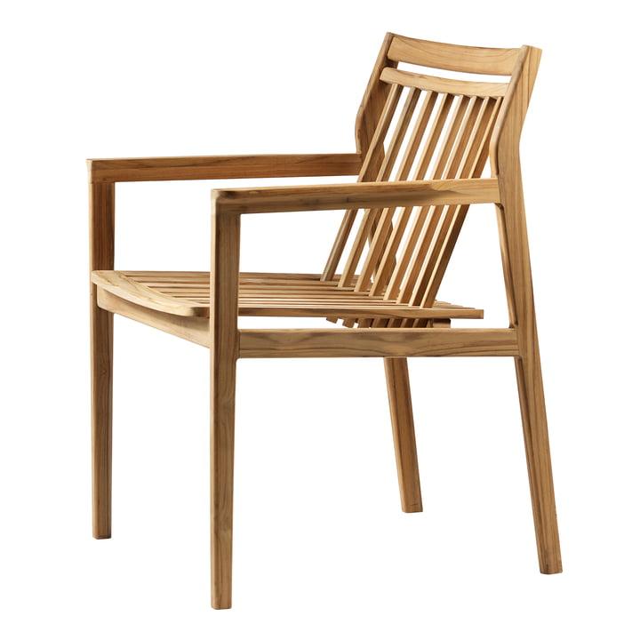M1 Chaise de jardin de FDB Møbler teck