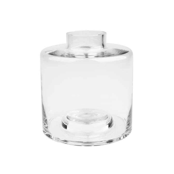 Stackable Vase Ø 14 x H 15 cm, transparent de Connox Collection