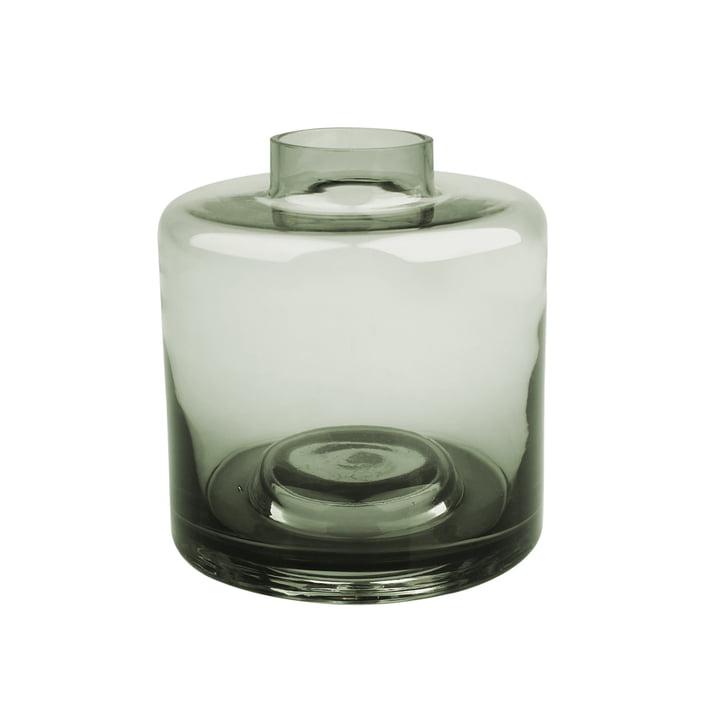 Stackable Vase Ø 14 x H 15 cm, gris-vert de Connox Collection