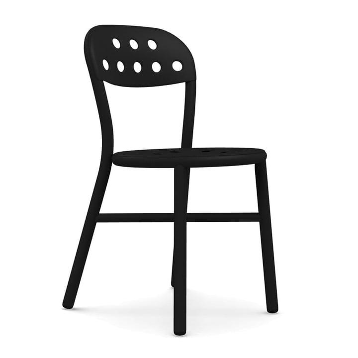 Chaise de pipe Magis en noir