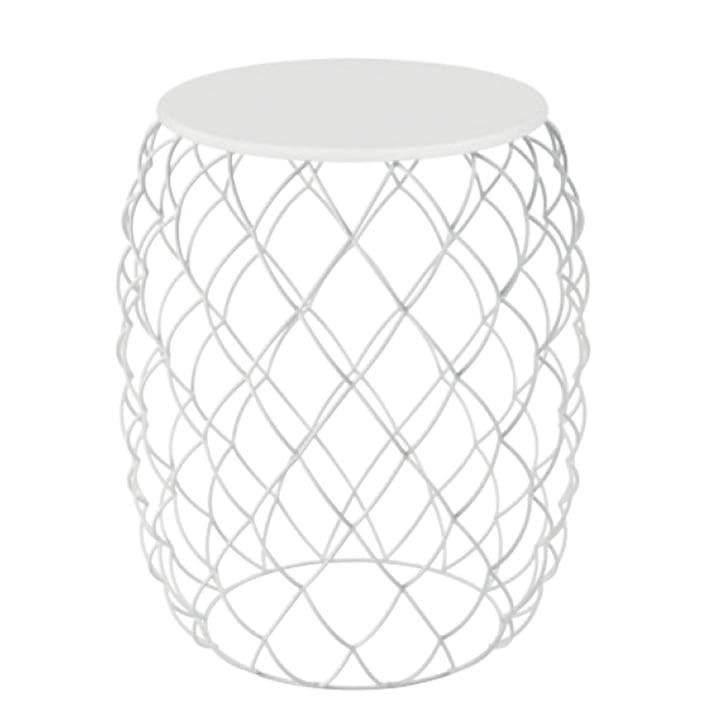 Table d'appoint Piña de Magis en blanc