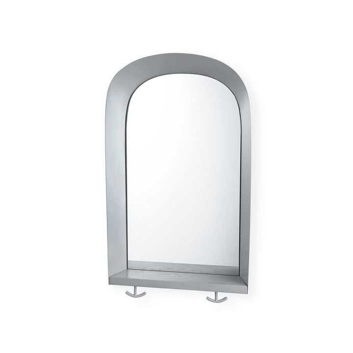 Portal Miroir mural de Nofred en gris