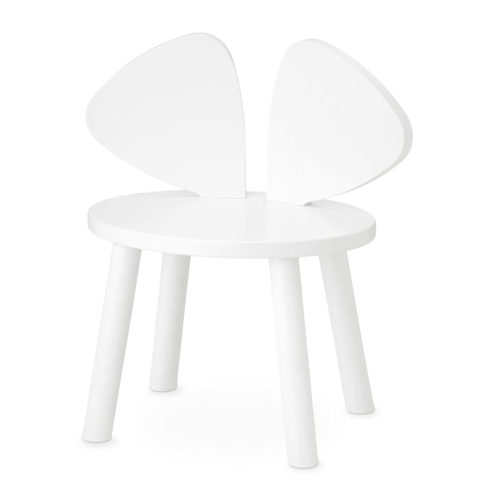 Mouse Chaise d'enfant de Nofred in white