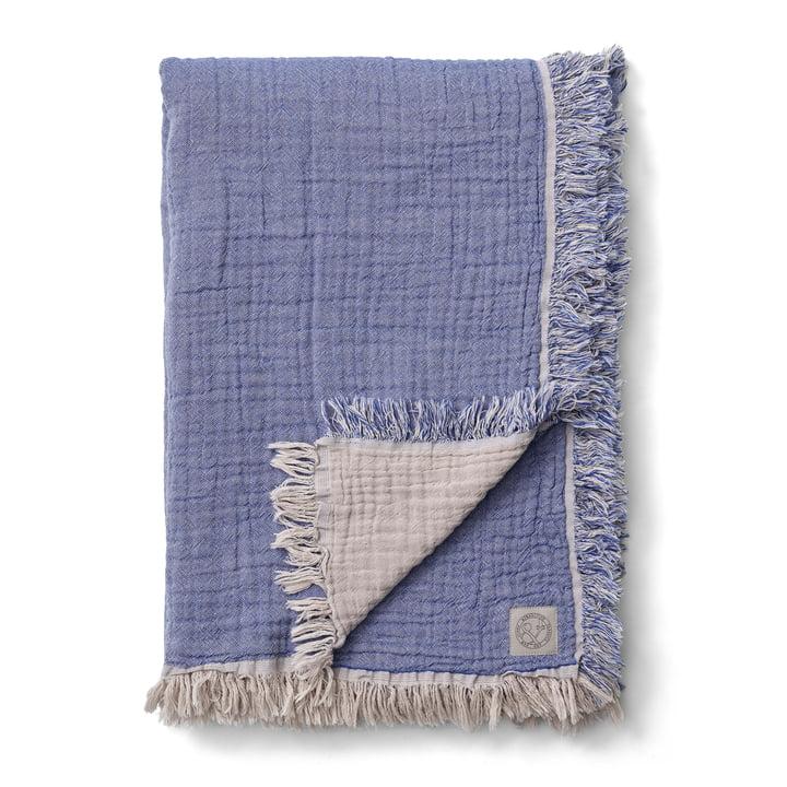 Collect SC32 Couverture en laine 140 x 210 cm de & tradition dans les nuages / bleu