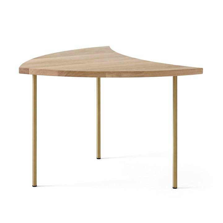 Pinwheel HM7 Table d'appoint de & tradition en chêne blanc huilé
