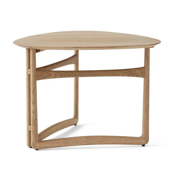 Drop Leaf HM5 Table basse de & tradition en chêne blanc huilé