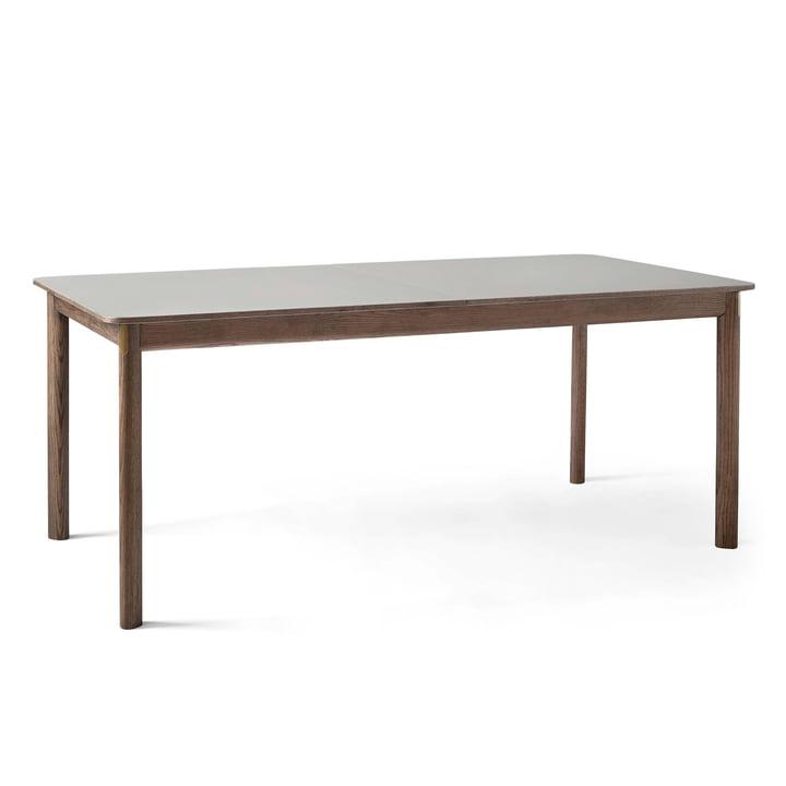 Patch HW1 Table à manger 180 x 90 cm de & tradition en chêne fumé / Fenix Nano laminé giogio londra 0718