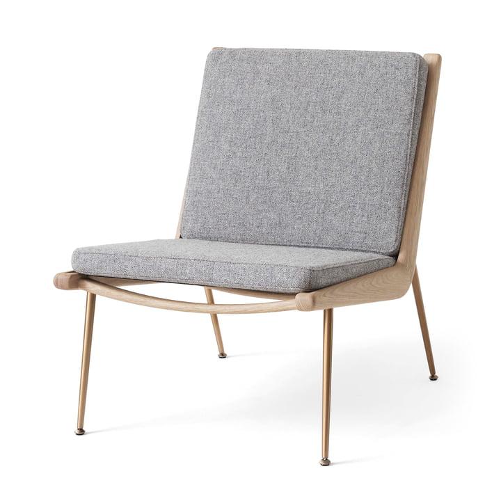 Boomerang HM1 Loungechair à partir de & tradition en chêne blanc huilé / Hallingdal 130