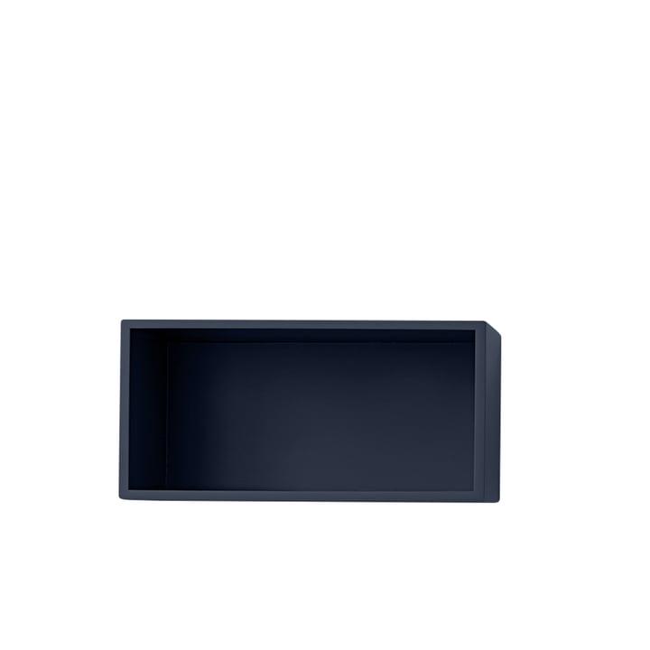 Mini Stacked Module d'étagère 2. 0, petit / à midnight blue partir de Muuto