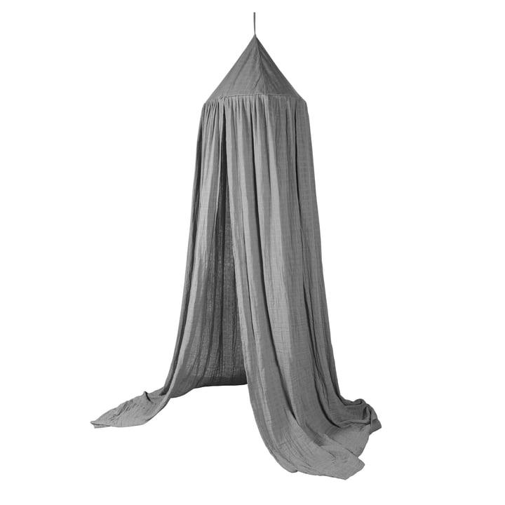 Dessus de lit Sebra en gris éléphant