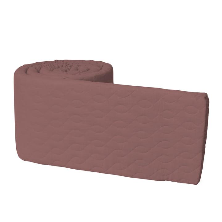 Nid de lit pour bébé Sebra en piqué / blossom pink