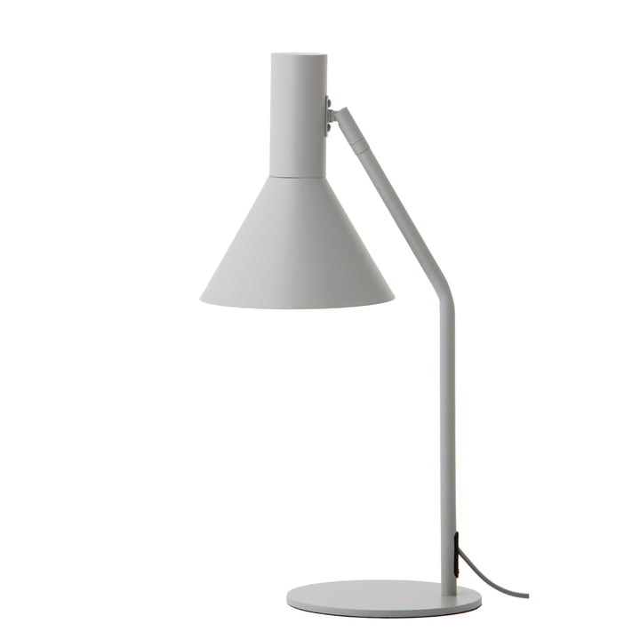 Lyss Lampe de table, gris clair mat par Frandsen