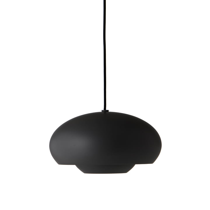Champ Lampe à suspension Ø 30 cm, noir mat de Frandsen