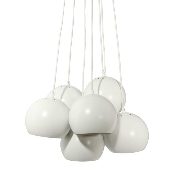 Ball Luminaire suspendu Multi, blanc mat de Frandsen