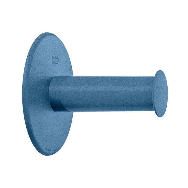 Plug'n Roll Porte-papier hygiénique Koziol en organic bleu foncé
