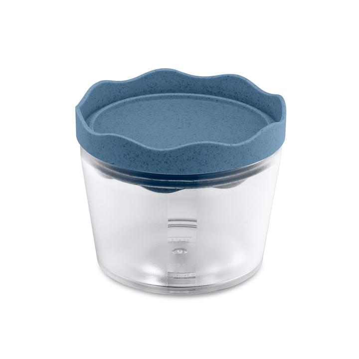 Prince S Boîte de conservation 300 ml de Koziol dans le bleu organic profond