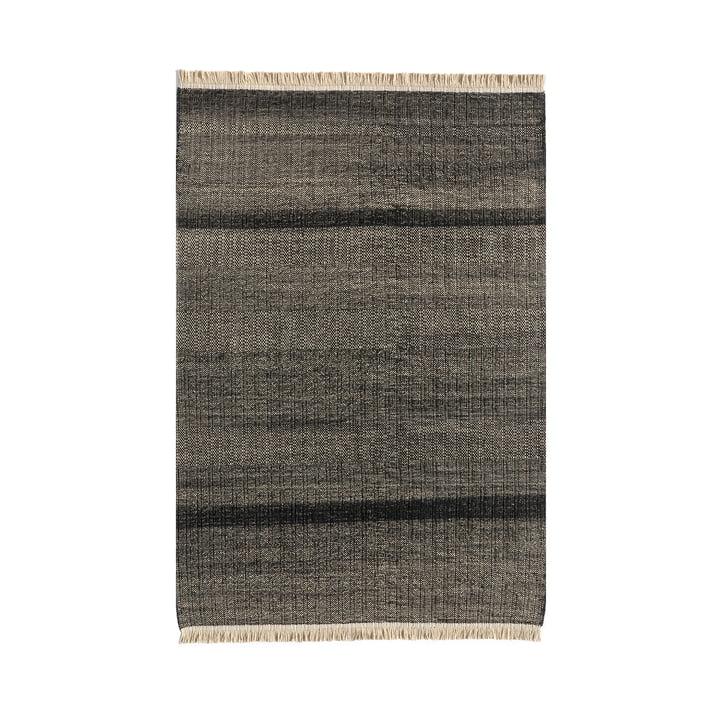 Tres Stripes Tapis d'extérieur 170 x 240 cm de nanimarquina en noir