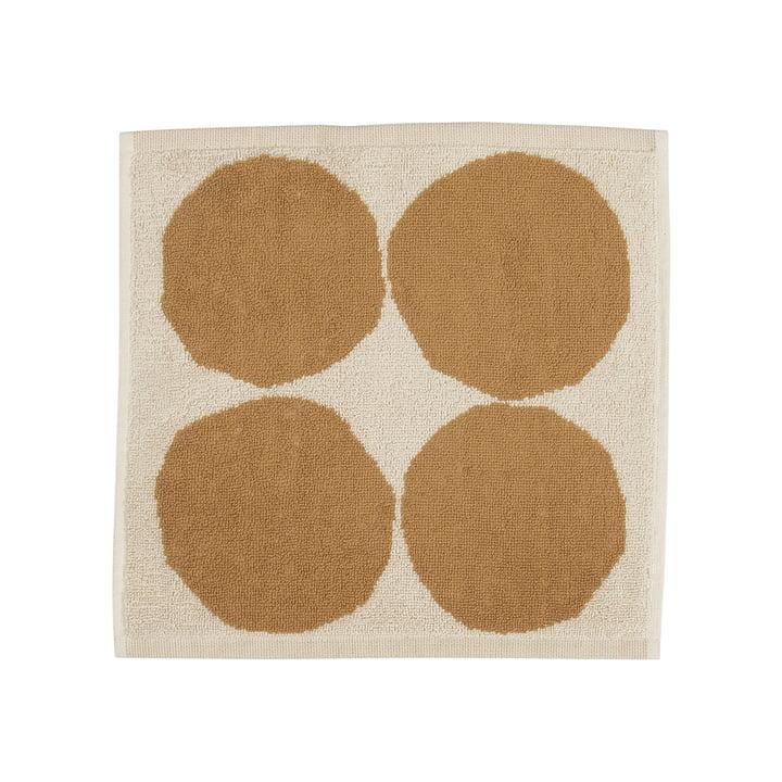 Kivet Mini-serviette 30 x 30 cm de Marimekko en coton blanc / beige