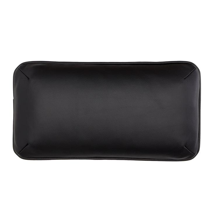 Coussin DB1 pour Arctic Daybed 50 x 26 cm par Andersen Furniture en noir (cuir Sevilla 4001)