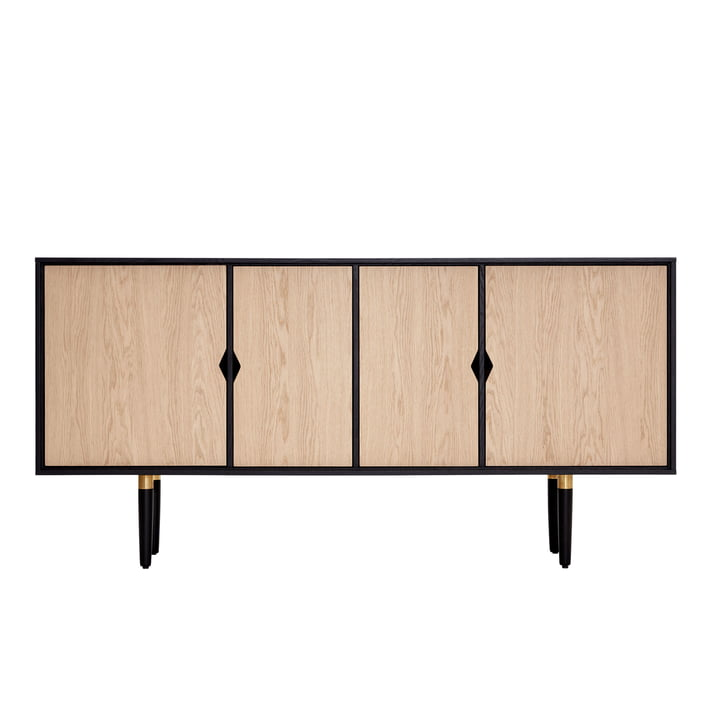 Buffet Unique´s 163 x 43 x 80 cm par Andersen Furniture en chêne / noir