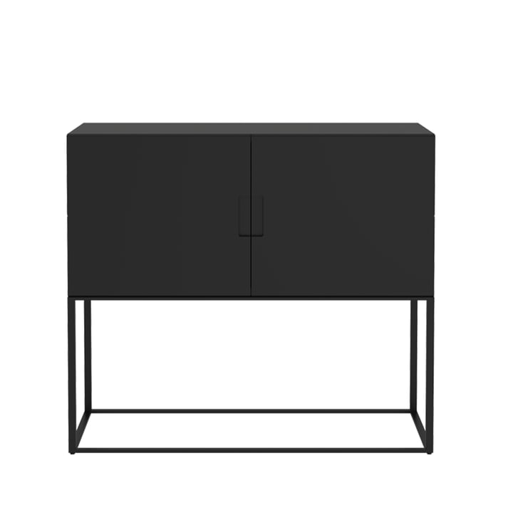 Système de rayonnage Fischer, Design n° 1 de Objekte unserer Tage en noir