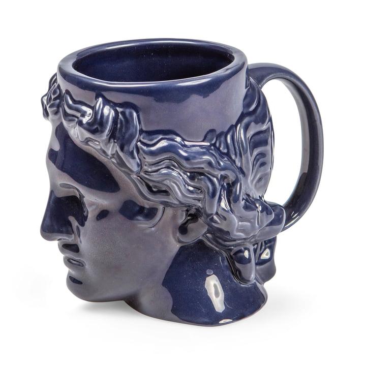 Hestia Tasse avec anse, bleu de Doiy