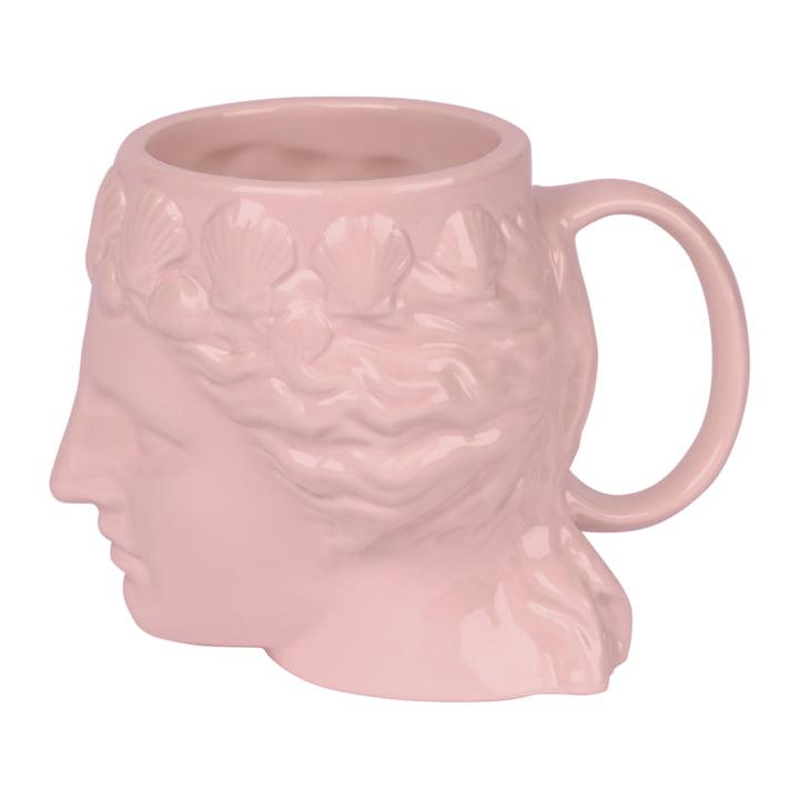 Aphrodite Tasse avec anse, rose par Doiy