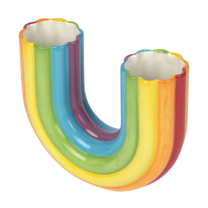 Rainbow Vase de Doiy - Vue unique