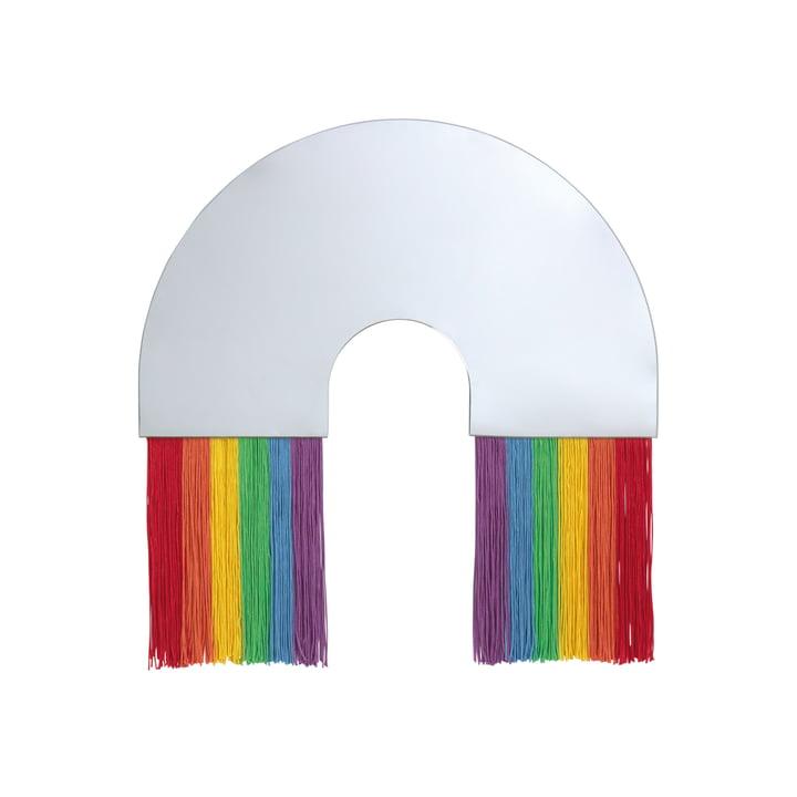 Rainbow Miroir mural M de Doiy