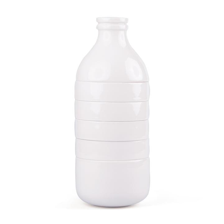 Doiy - Ensemble With Milk carafe et tasse, blanc