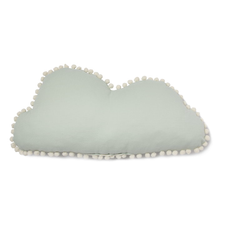 Oreiller Cloud Marshmallow, 30 x 58 cm, aqua by Nobodinoz