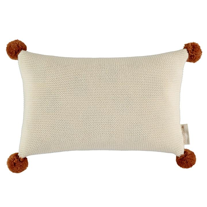 Oreiller tricoté So Natural, 22 x 35 cm, naturel par Nobodinoz