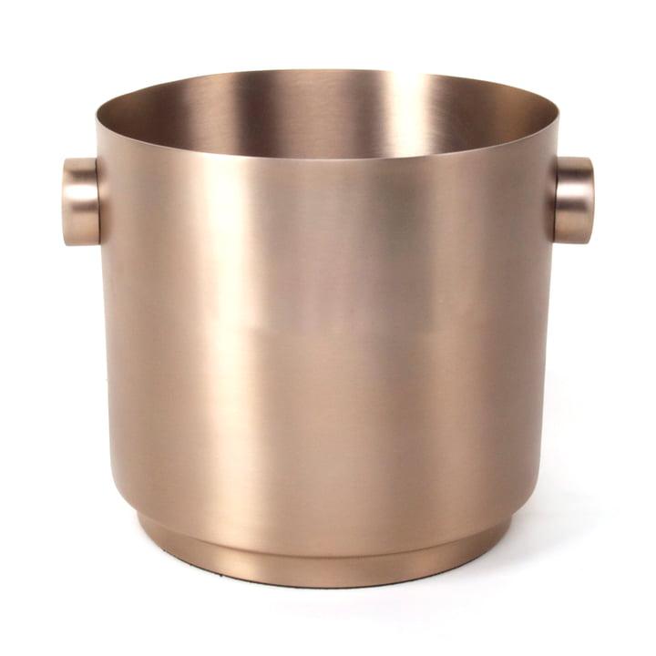 Rondo Seau à vin, en cuivre et acier de XLBoom