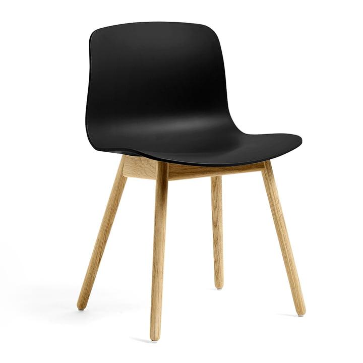 About A Chair AAC 12 ECO de Hay en chêne / noir