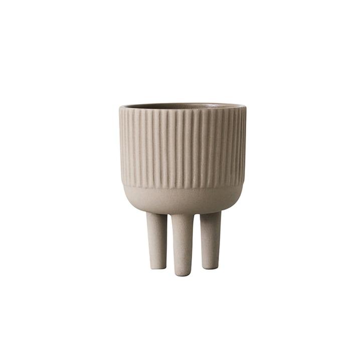 Bowl pot de fleurs S Ø 12 cm par Kristina Dam Studio en gris