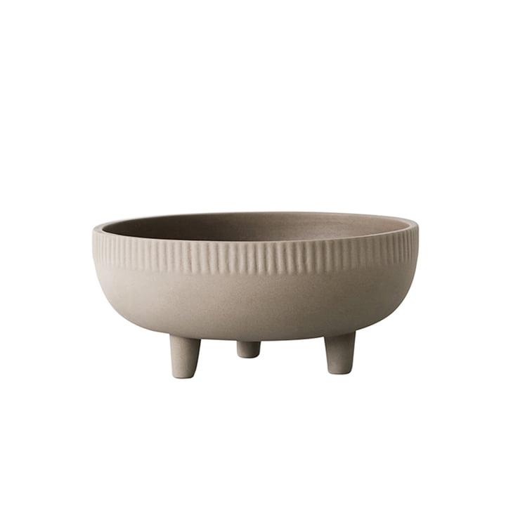 Bowl pot de fleurs M Ø 24 cm par Kristina Dam Studio en gris