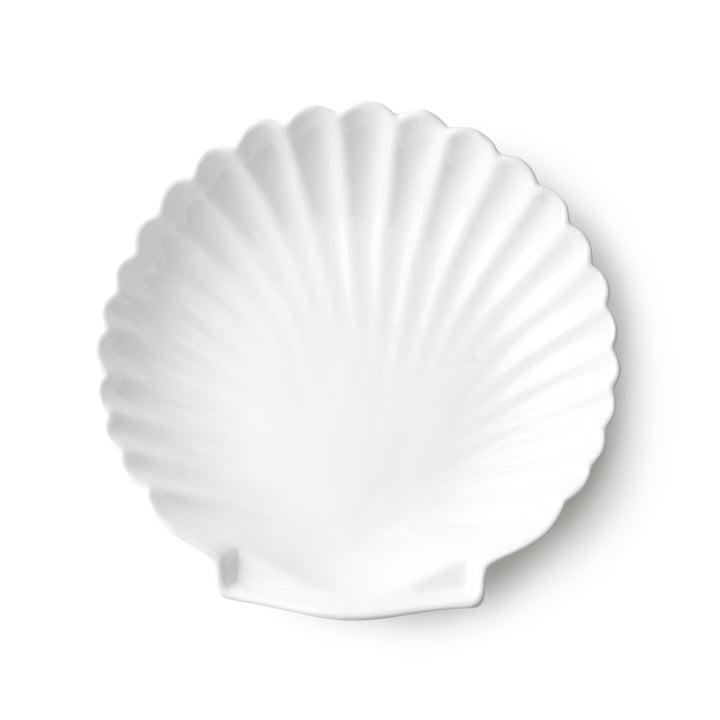 Plateau coque Athena L par HKliving en blanc