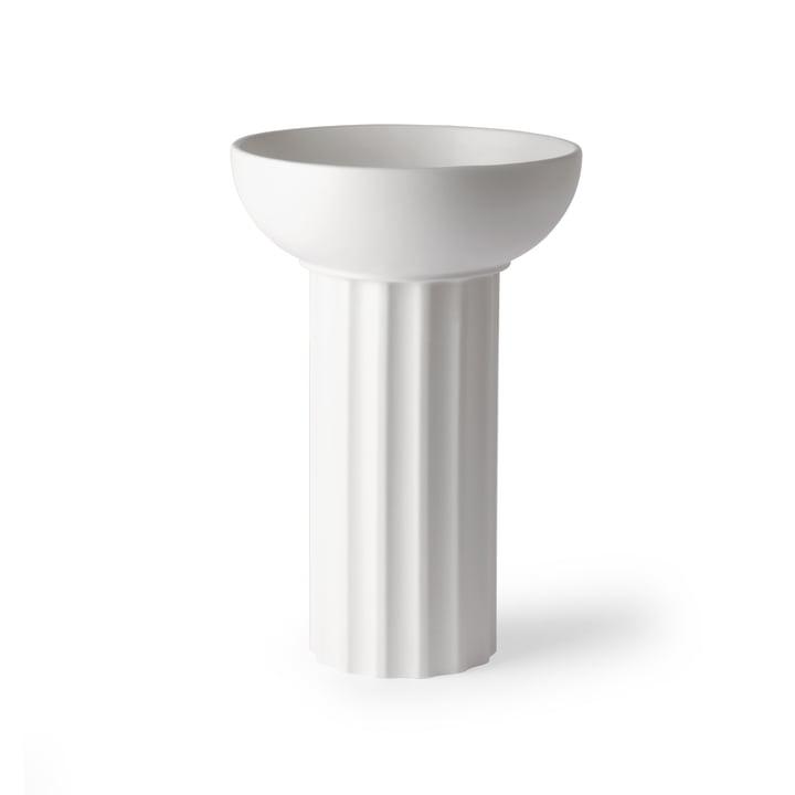 Vase Greek A, Ø 21,5 x 32,5 H cm, blanc par HKliving