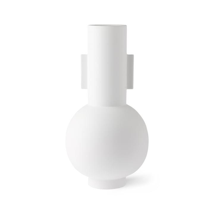 Vase L, Ø 21 x H 42,5 cm, blanc mat par HKliving