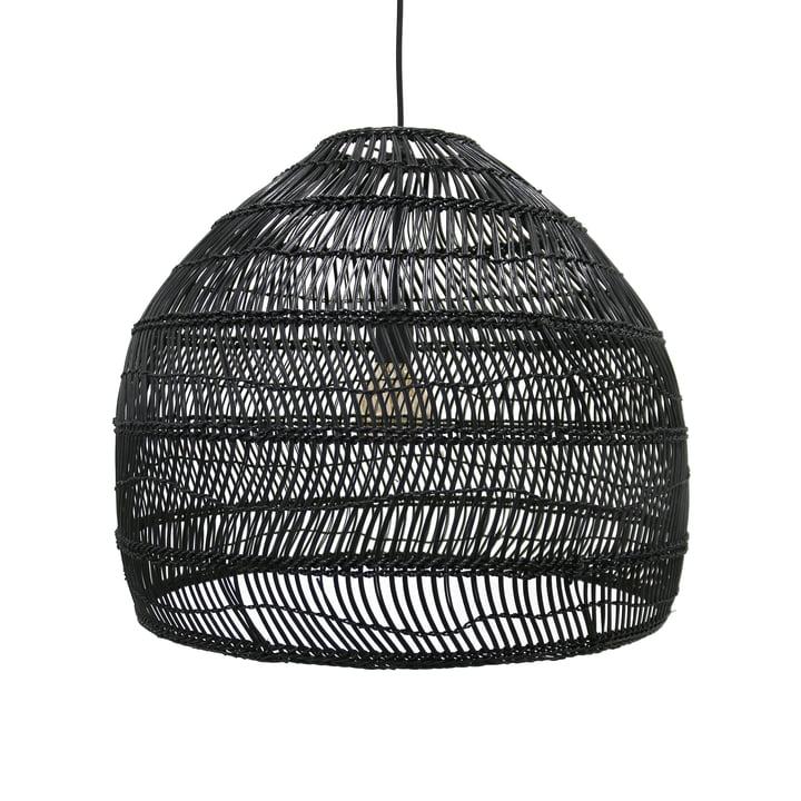 HKliving en Wicker M Ø 60 x H 50 cm par HKliving en noir