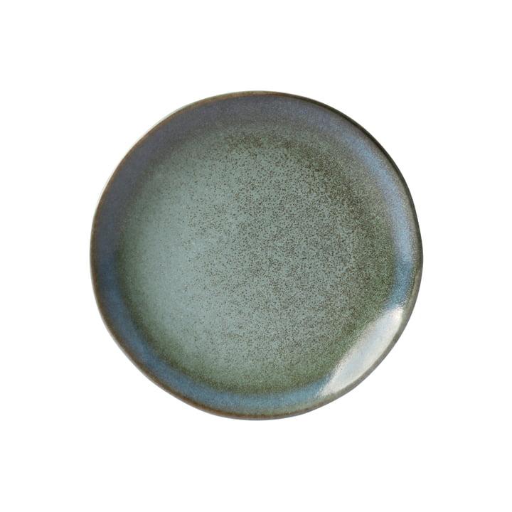 Assiette à dessert 70's Ø 17,5 cm par HKliving en vert mousse