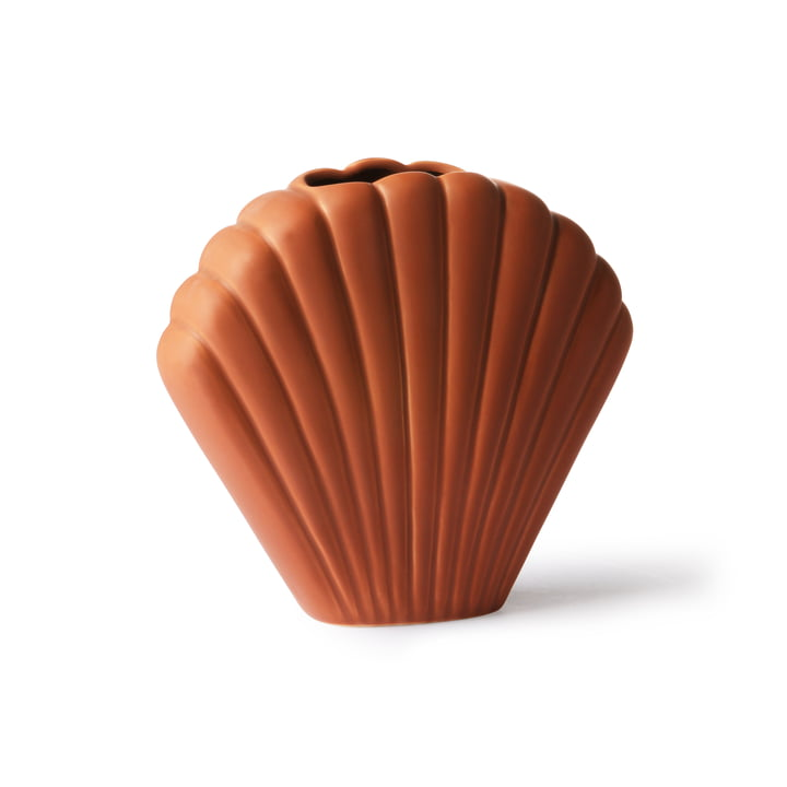 Vase shell M, marron par HKliving