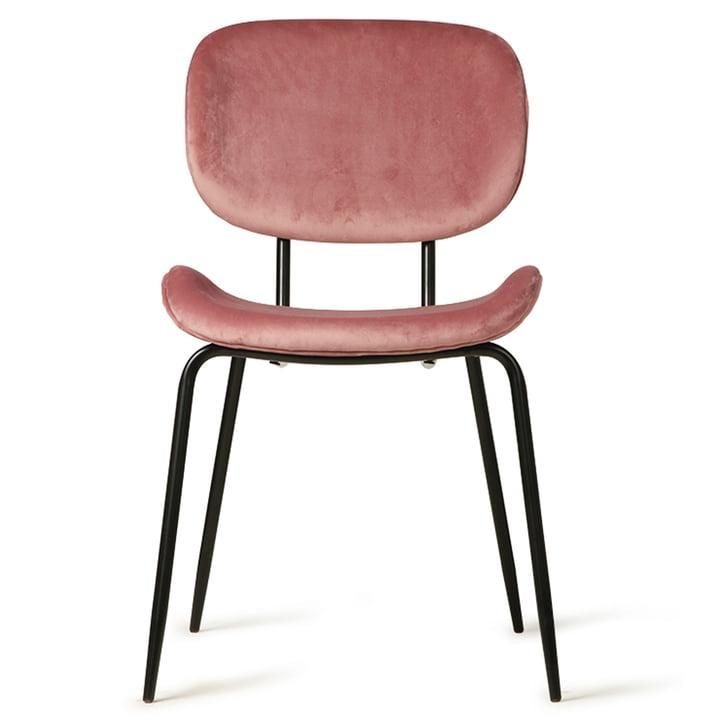 Chaise en Velvet, rose par HKliving