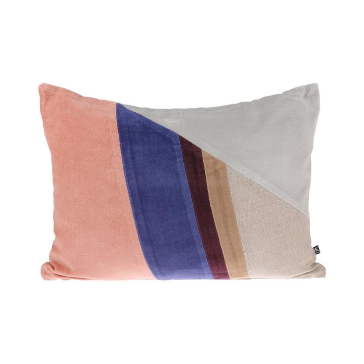 Coussin Velvet Patch L 35 x 50 cm par HKliving en multicolore