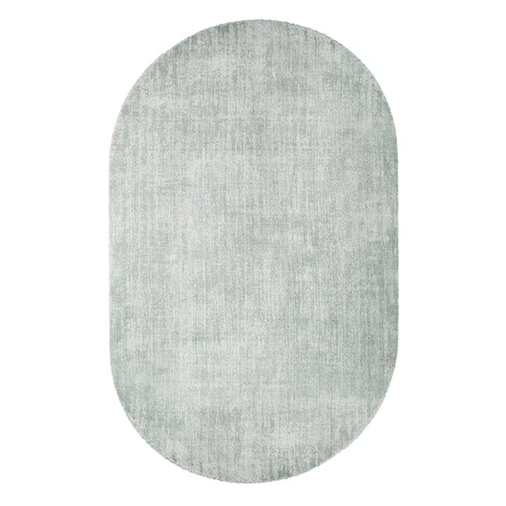 Tapis ovale 150 x 240 cm par HKliving en vert menthe