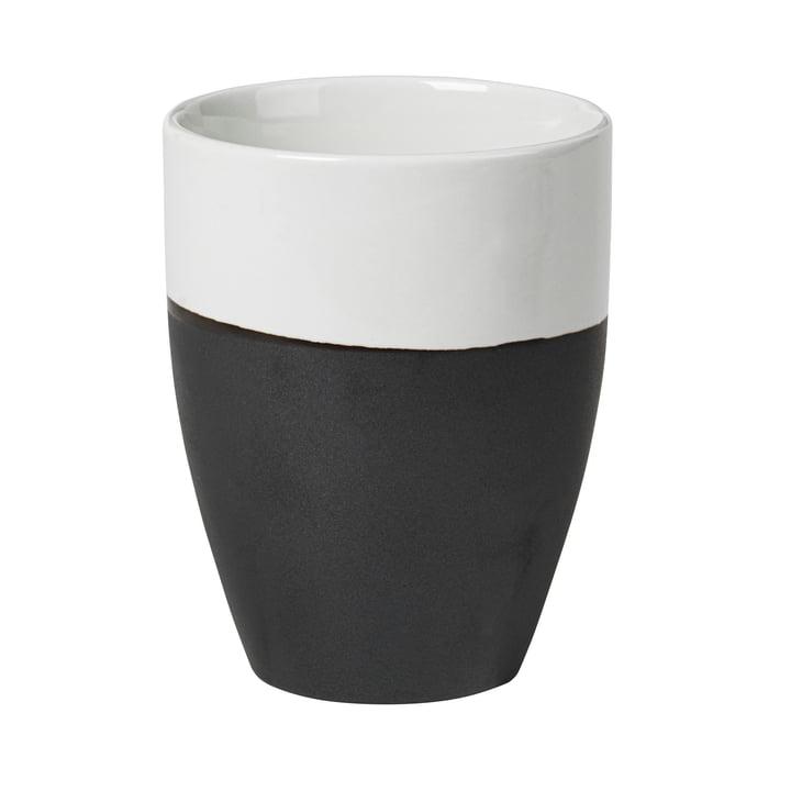 Mug Esrum, 25 cl, ivoire brillant / gris mat par Broste Copenhagen
