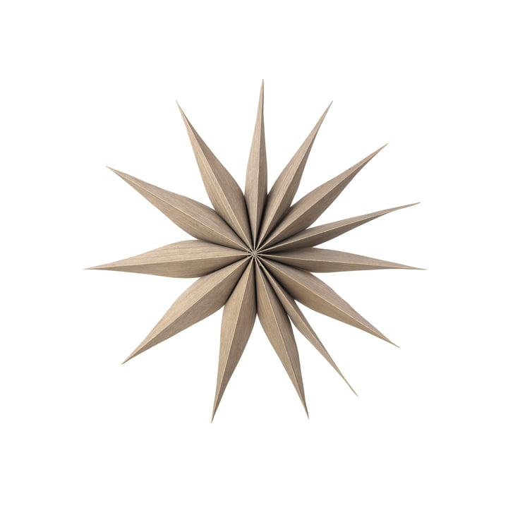 Étoile décorative Venok M, Ø 40 cm / champignons par Broste Copenhagen