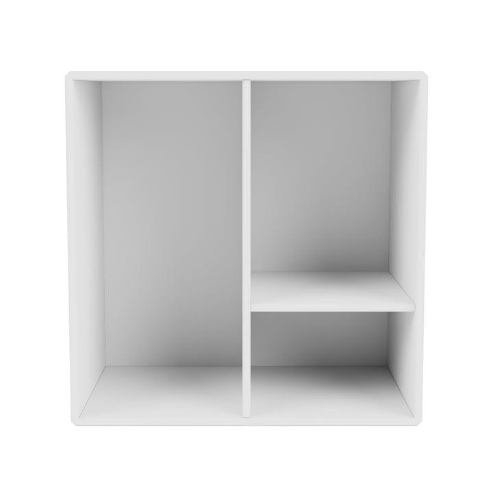 Mini module d'étagère avec étagères, new white de Montana .